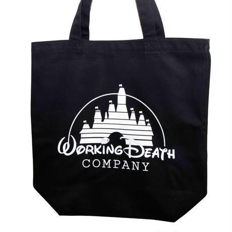 WORKING DEATH TOTE BAG