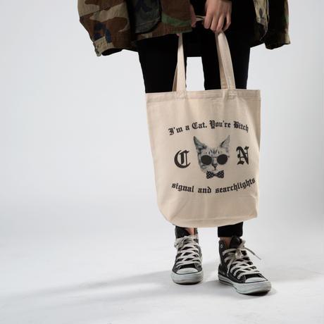 I'm a Cat, You're Bitch Canvas tote Bag