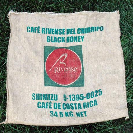(生豆)コスタリカ ブルンカ地方チリポ山付近 リベンス ブラックハニー 2018 1袋34.5