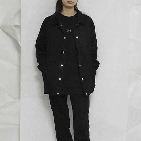 國清 battle jacket (BLK)