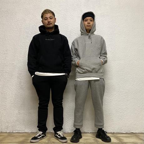 株式會社捌拾弐 Embroidery hoodie (GRY)