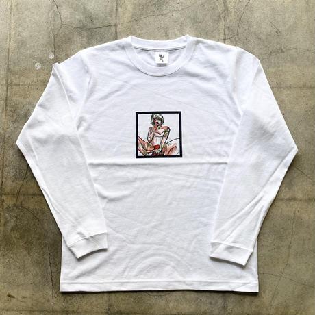 青蛙神(CHINWASEN) CMYK printing long sleeve tee