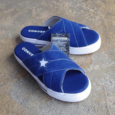 "lady's item""  new"" CONVERSE ONE STAR sandal slip NAVY"
