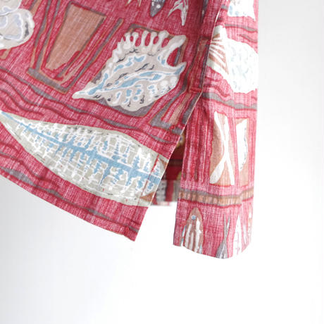 "reyn spooner"" pullover cotton shirt  made in Hawaii"