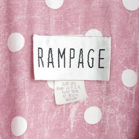 """lady's item"""" RAMPAGE  made in USA"""