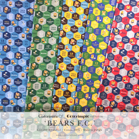 BEARS F.C. -blue (CO159202 A)