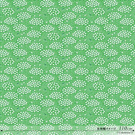 SHEEEEEP-green (CO912400 A)【*1M単位/ダブルガーゼ】