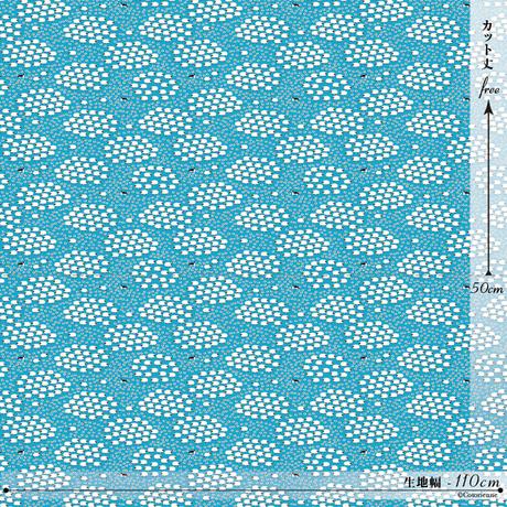 【残り150cm!】SHEEEEEP -sky blue (CO112495 C)【シーチング】