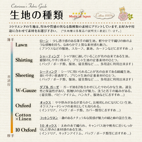 【残り100cm!】Sunny Land -cream yellow (CO312692 A)ローン生地