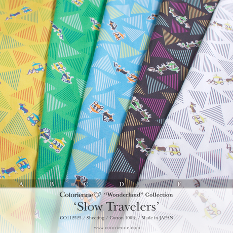 Slow Travelers -yellow (CO112525 A)