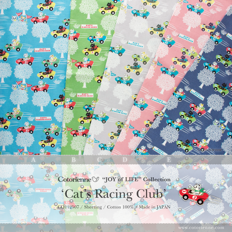 Cat's Racing Club -pink (CO112507 D)