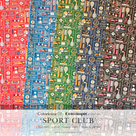 SPORT CLUB -blue (CO159203 B)