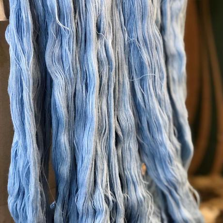 C.T.L NEO TYPE 2nd DENIM JACKET - ASAGI INDIGO (AQUA BLUE)  / WASHED ECRU