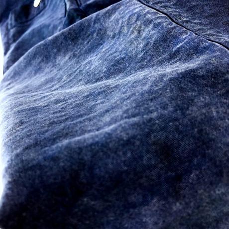 MOLESKIN COTTLE PANTS-AUTHENTIC INDIGO