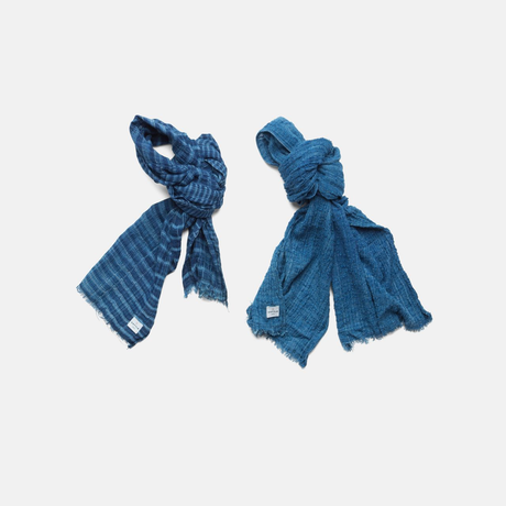 Blowin' In the Wind STALL-GAUZE AUTHENTIC INDIGO (SIZE M)