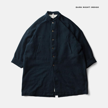BOOK ORCHESTRA COATー DARK NIGHT INDIGO