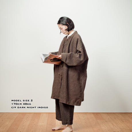 BOOK ORCHESTRA COATー KAKISHIBU BLACK