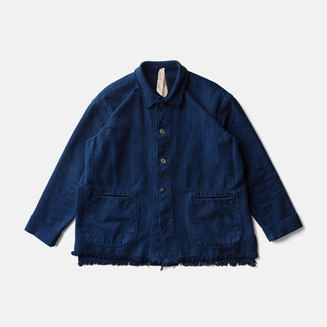 CHAMPETRE BOUQUET JACKETー AUTHENTIC INDIGO