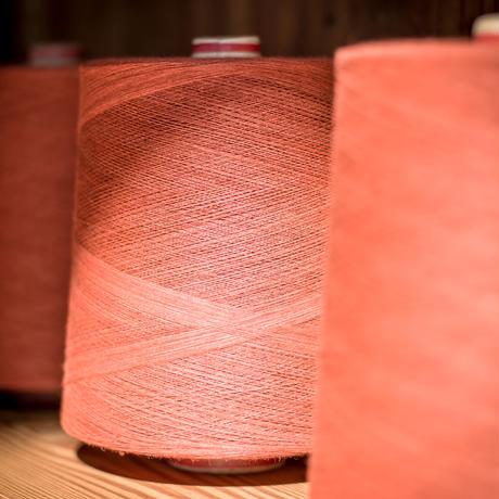 C.T.L SLIM STRAIGHT DENIM PANTS-BENGARA(INDIAN RED) / SOLID RIGID(未洗い)