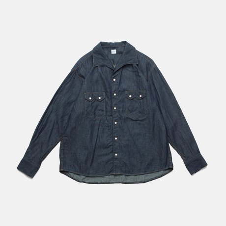 C.T.L COMFORT DENIM SHIRTS-COLIN / WASHED INDIGO