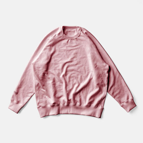 LIFE BOTANICAL DYE SWEAT SHIRTーAKANE