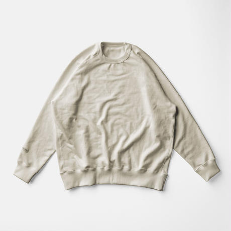 LIFE BOTANICAL DYE SWEAT SHIRTーHINOKI