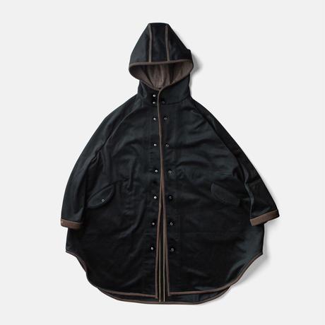 EGG COAT - CASHMERE KAKISHIBU BLACK