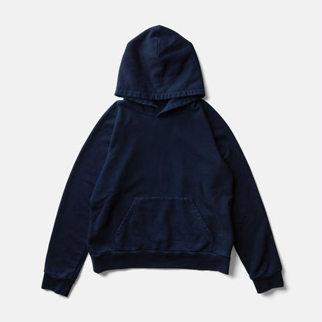 LIFE BOTANICAL DYE HOODIEーAUTHENTIC INDIGO