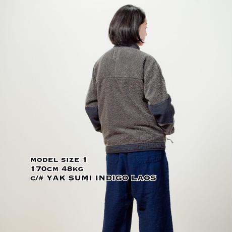 SUNSET PILE JACKET - INDIGO KAKISHIBU