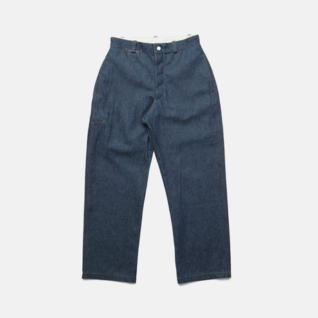 C.T.L STANDARD DENIM PANTS-BIZEN ICHIGO / SOLID RIGID