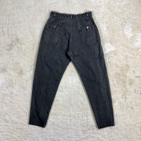 """""""ITTO UNSAI"""" COTTLE PANTS-SUMI INK"""