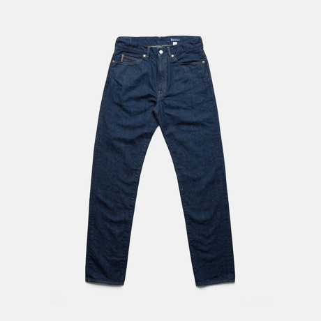C.T.L SLIM STRAIGHT DENIM PANTS-BENGARA(INDIAN RED) / SOLID RIGID