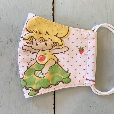 【ネコポス】OKIEDOKIE☆ヴィンテージマスク/strawberry shortcake(A)