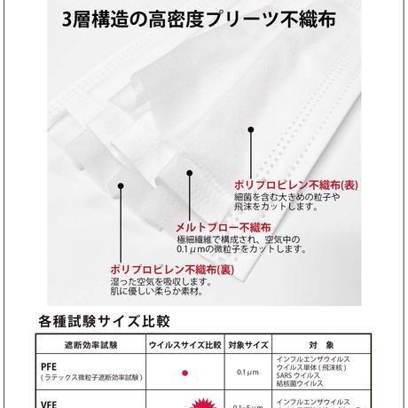 【日本製】5枚入り パラビオン柄 不織布 大阪工場直送
