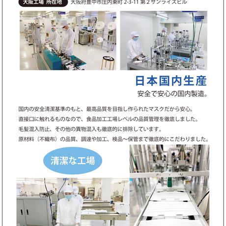 【日本製】5枚入り 不織布 柄マスク おしゃれ 使い捨て 個包装 大阪工場直送 着物マスク