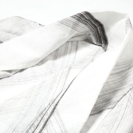 シルク混羽織りカーディガン