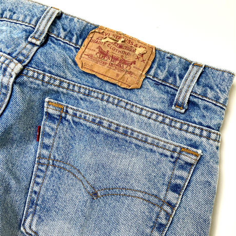 90s Levi's 505 Denim Pants Made in USA 36/32 Red Tab