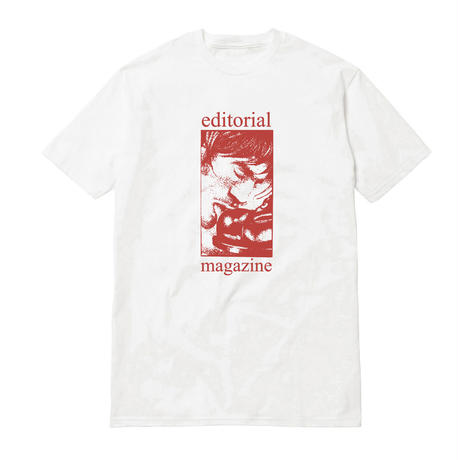 Editorial Magazine Slob Tee Ash/Red