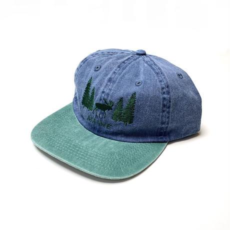 SOUVENIR MAINE CAP NAVY/ GRN