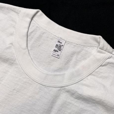 Los Angeles Apparel 8.5oz Binding Garment Dye Short Sleeve T-Shirts White