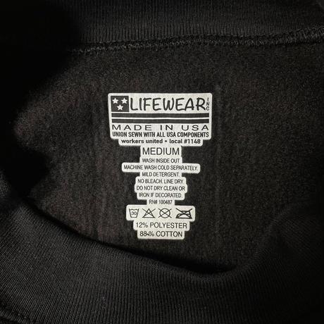 LIFEWEAR Heavy weight Sweatshirt Black