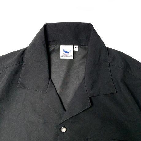 ALL USA CLOTHING S/S CAMP SHIRT BLACK