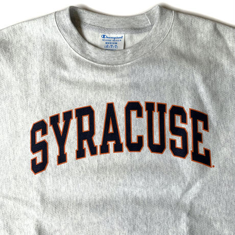 "CHAMPION REVERSE WEAVE SWEATSHIRT ""Syracuse"" ASH"