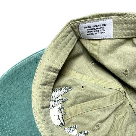 SOUVENIR MAINE CAP KHAKI/ GRN