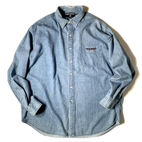 Used Polo Ralph Lauren  L/S Denim Shirt C-0510