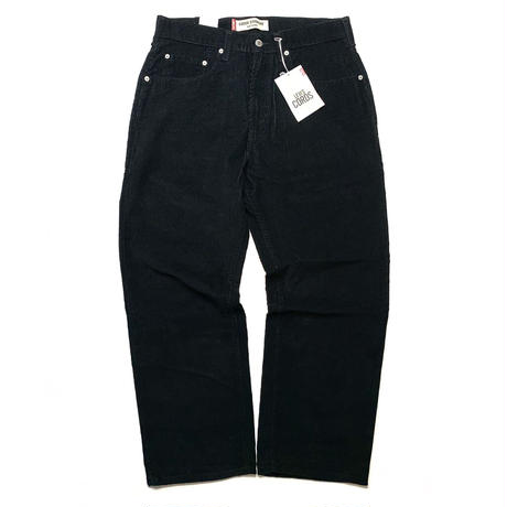DEADSTOCK LEVI'S 569 CORDUROY PANTS BLACK