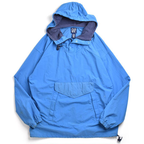 90s GAP Nylon Pullover Hooded Jacket