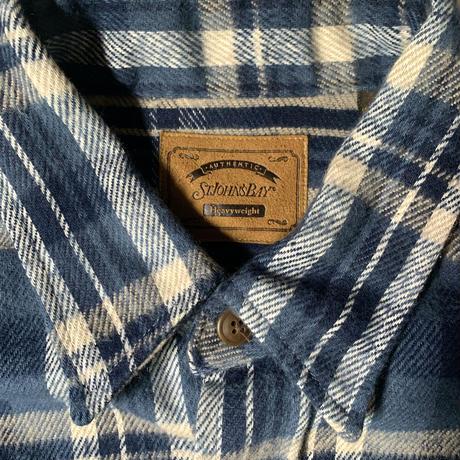 Deadstock St John's Bay  L/S Flannel  Shirt C-0512