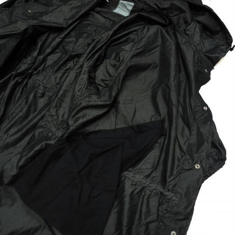 Deadstock Us Army Snow Camo Parka Black Over Dye
