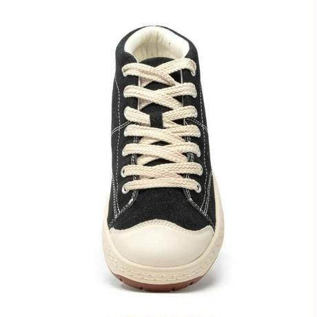 Simple Retro 91 Mid-Top Sneaker Black